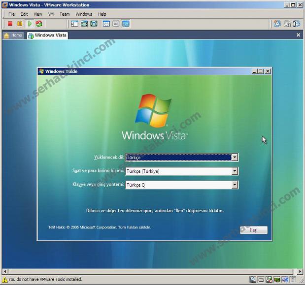 VMWare Workstation İşletim Sistemi Kurulumu