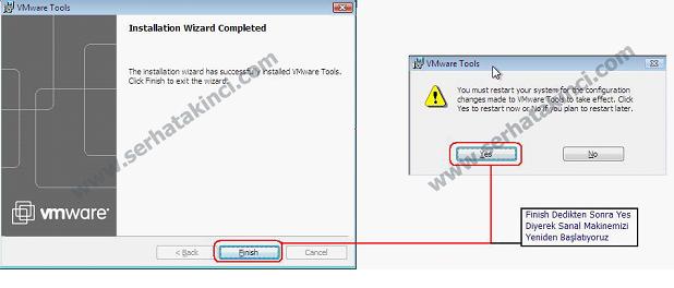 VMWare Tools Kurulumu Adım 3