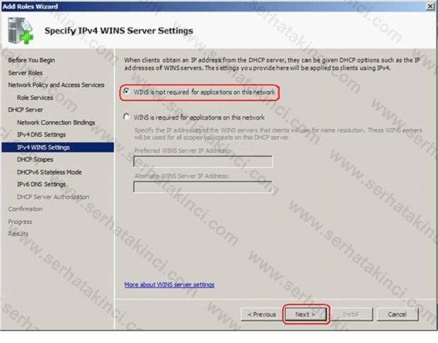 Network Policy Server Kurulumu 9
