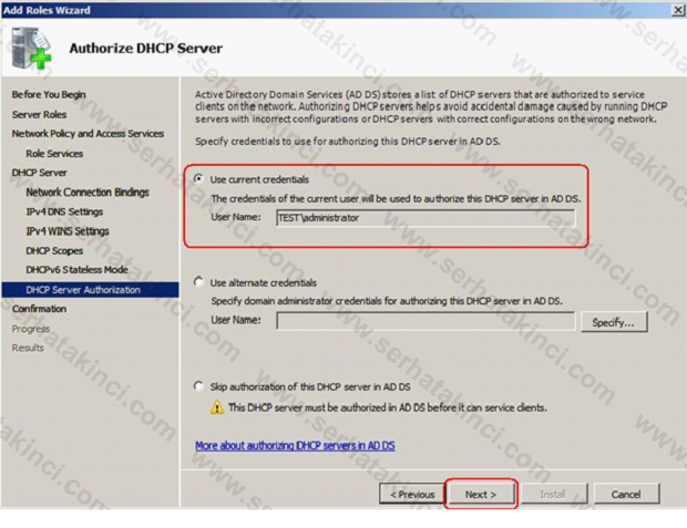 Network Policy Server Kurulumu 12