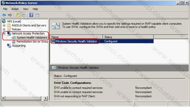 System Health Validators Yapılandırma Adımları 1