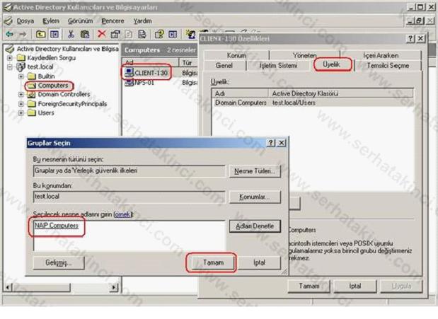 NAP Remediation Server Nasıl Yapılandırılır 13