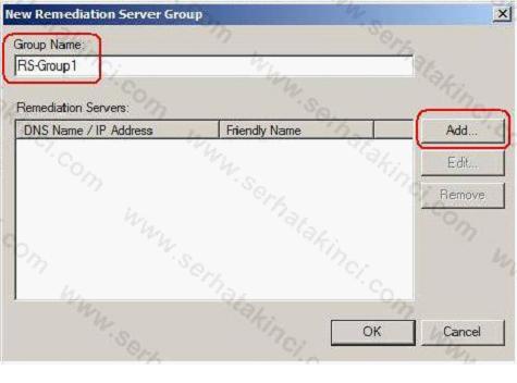 NAP Remediation Server Nasıl Yapılandırılır 4