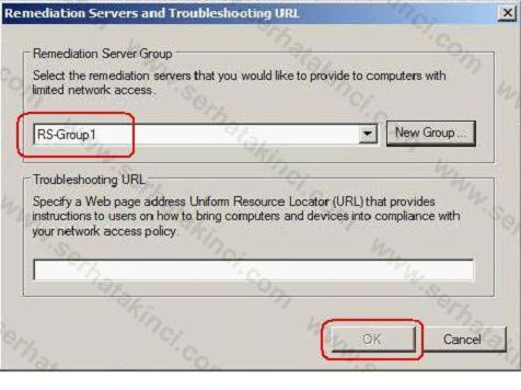 NAP Remediation Server Nasıl Yapılandırılır 7