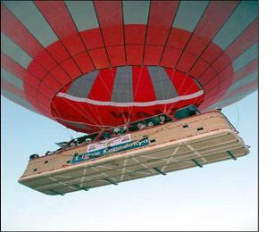 İlk Sıcak Hava Balonu