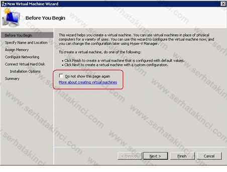 Hyper-V Manager - Hyper-V Ayarları 11