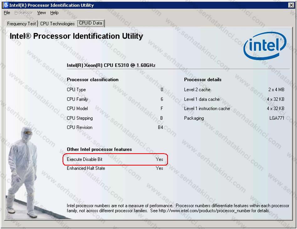 Intel Processor Identification Utility 2