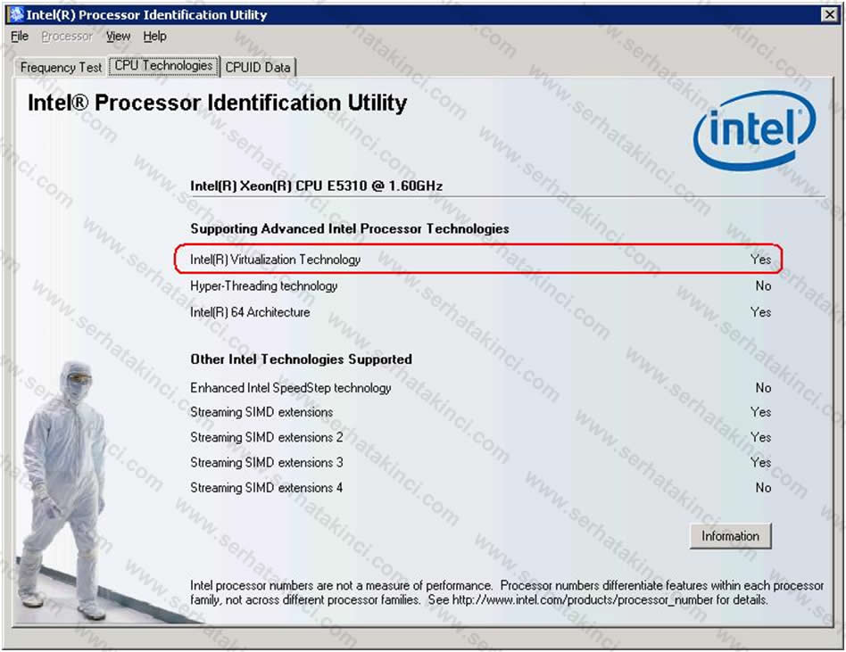 Intel Processor Identification Utility 1