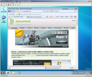 Hyper-V ve Windows7 - Resim 5