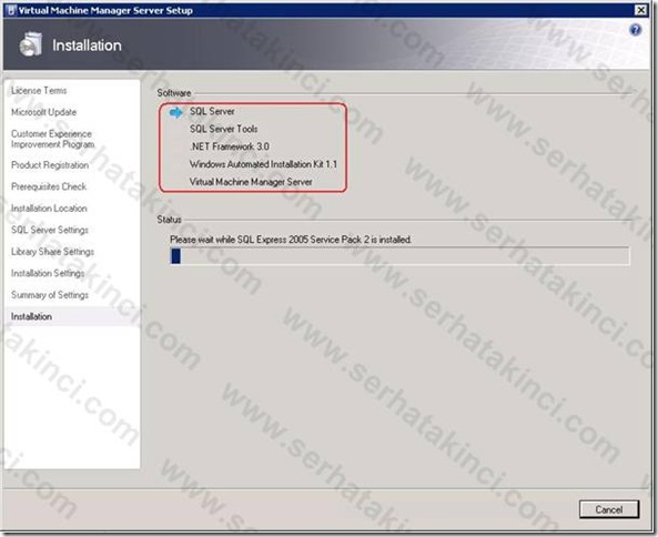 VMM Server Kurulumu - Adım 12