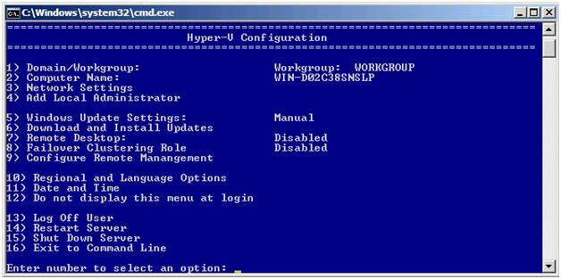Hyper-V Server 2008 R2 Yönetim Aracı