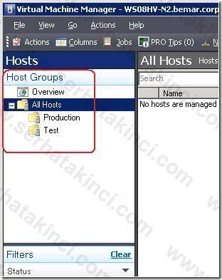Windows Host Ekleme İşlemleri - Adım 3