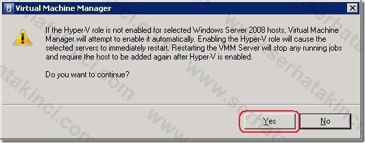 Windows Host Ekleme İşlemleri - Adım 8