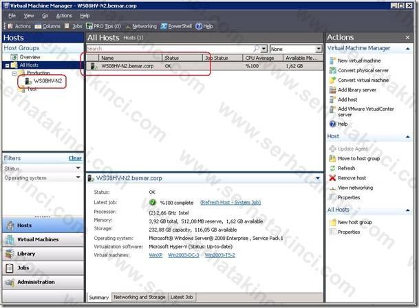 Windows Host Ekleme İşlemleri - Adım 15