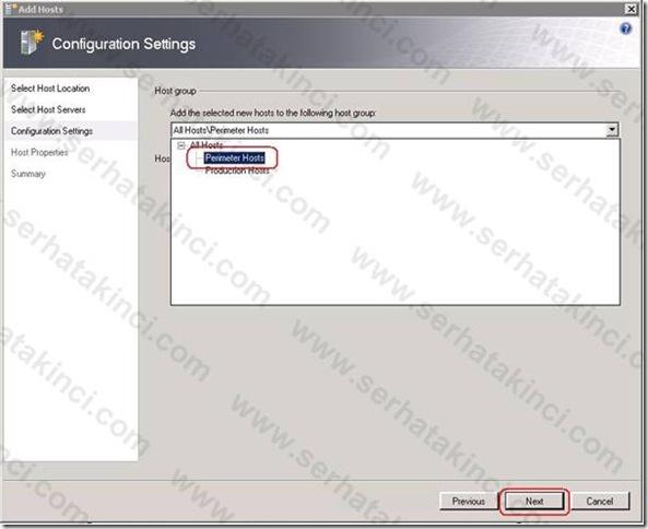 Windows Host Ekleme İşlemleri 17