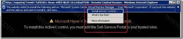 Self-Service Portal Kullanıcı Aksiyonları 14