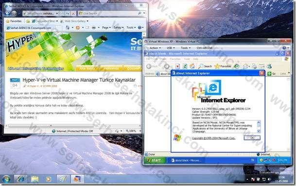 Windows 7 XP Mode Uygulamaları