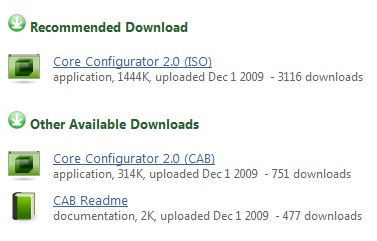 Core Configurator 2.0 İndir