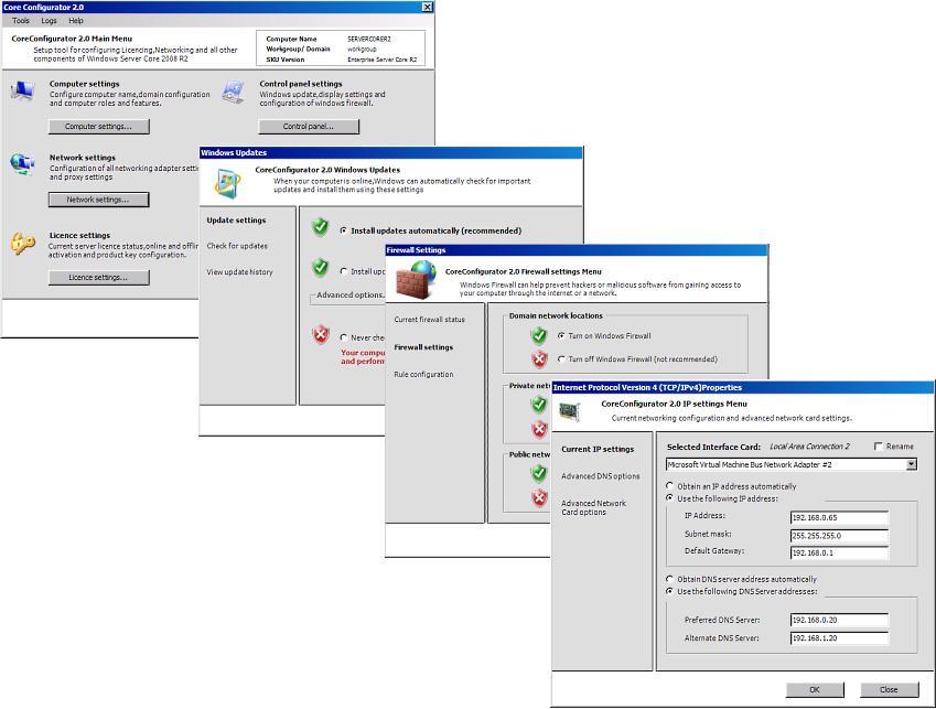 Core Configurator 2.0