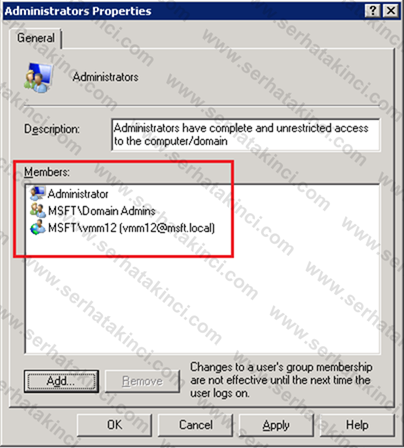 Virtual Machine Manager 2012 Kurulumu - Adım 19