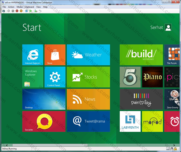 Windows 8 Kurulumu - Adım 11