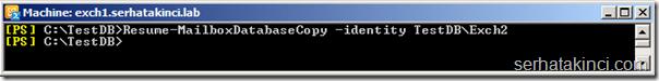 Resume-MailboxDatabaseCopy