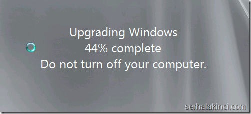 Upgrade Windows 1