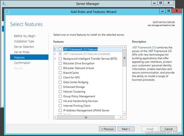 Microsoft iSCSI Target Kurulumu - Adım 5