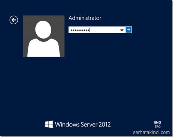 Windows Server Kurulumu - Adım 14