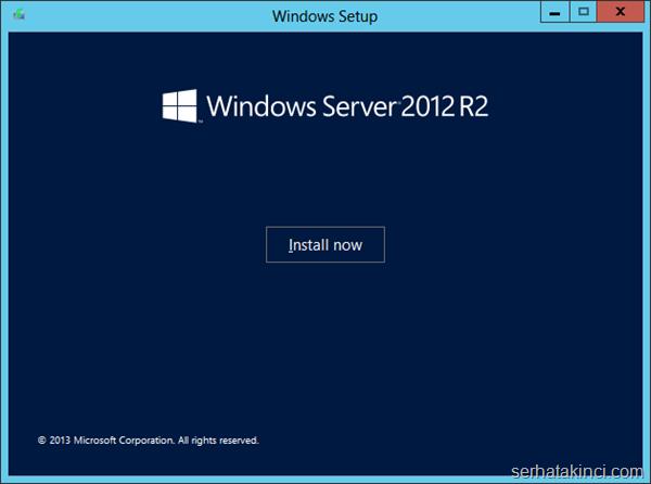 Server 2012 R2 Hyper-V Yükseltme 1