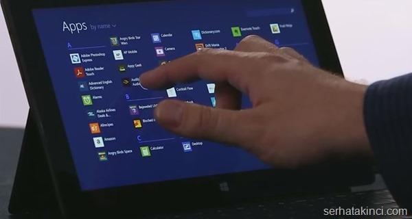 Windows 8.1 Kullanıcı Deneyimi