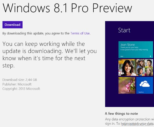Windows 8.1 Önizleme İndir 6