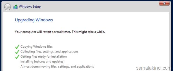 Server 2012 R2 Hyper-V Yükseltme 10