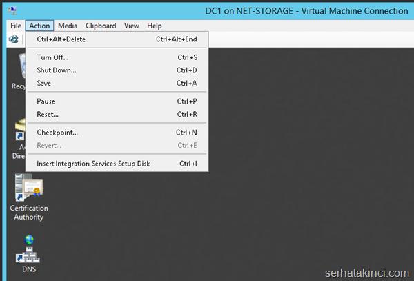 Server 2012 R2 Hyper-V Yükseltme 13
