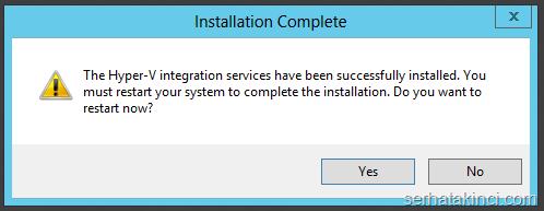 Server 2012 R2 Hyper-V Yükseltme 16