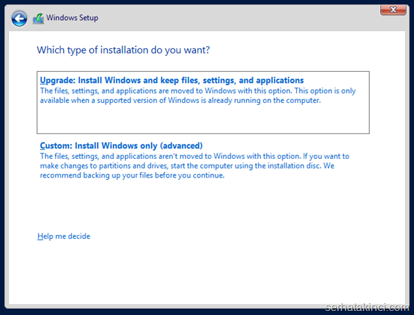 Windows Server 2012 R2 Önizleme Kurulumu 7