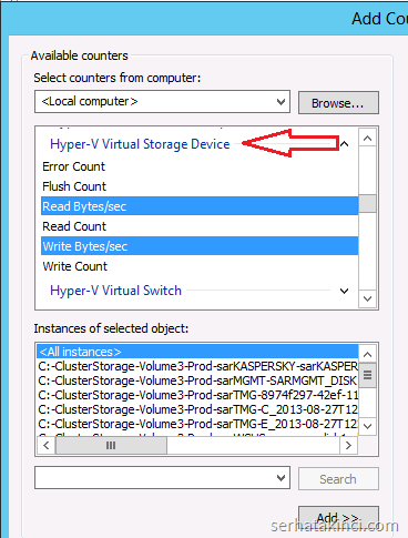 Hyper-V Virtual Storage Device
