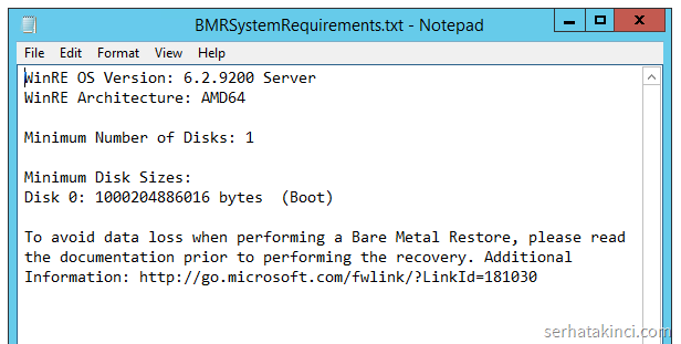 BMRSystemRequirements.txt