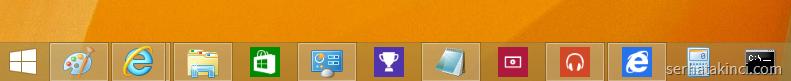Windows 8.1 Update - Taskbar Modern Apps