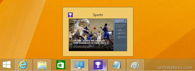 Windows 8.1 Update - Modern App Ön İzleme