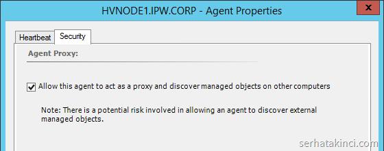 SCOM - Agent Properties
