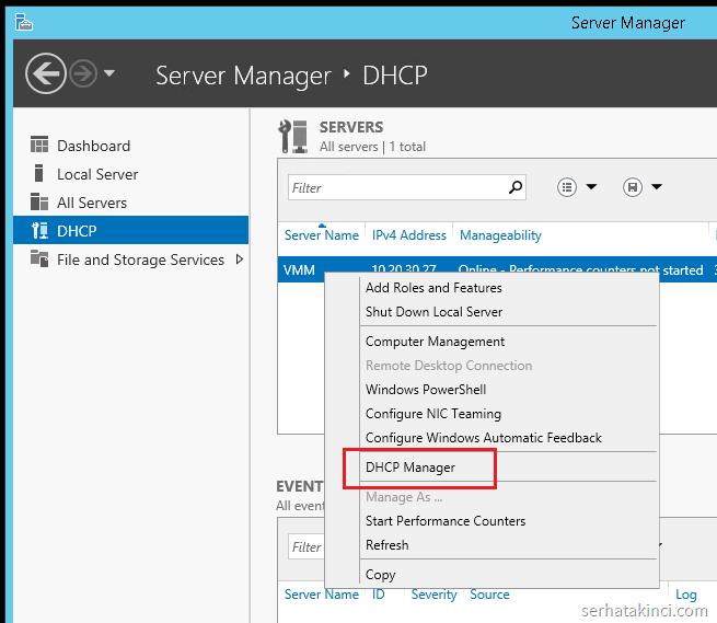 dhcp-server-konfigurasyon-adim1