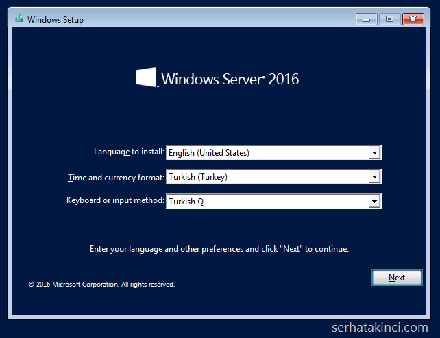 windows-server-2016-kurulumu-adim1