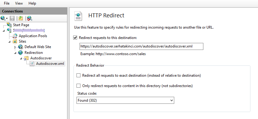 autodiscover-http-redirection