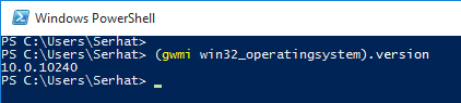 powershell-os-version