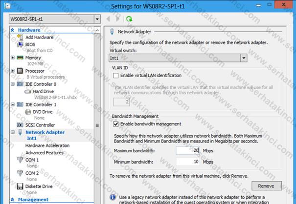 Virtual Network Yenilikleri 1