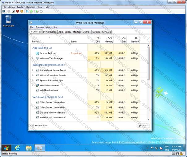 Windows 8 Manzaraları 5