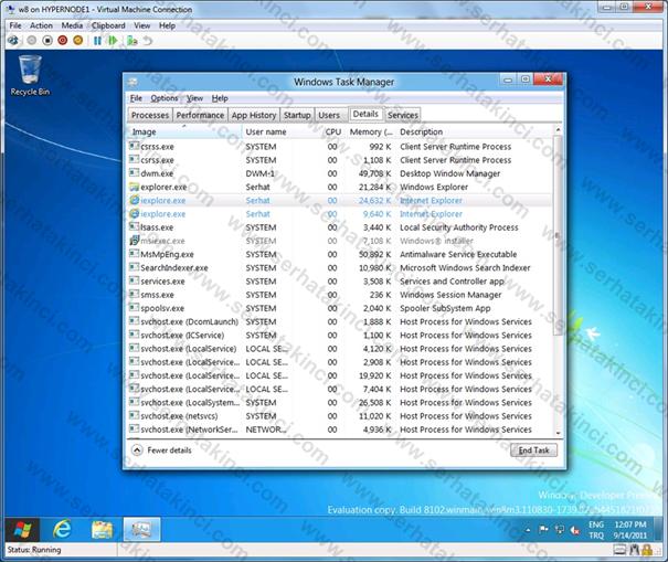 Windows 8 Manzaraları 6